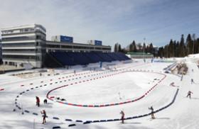 Лыжно-биатлонная трасса к